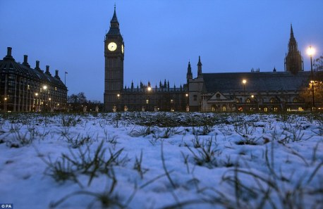 snow house of parliament