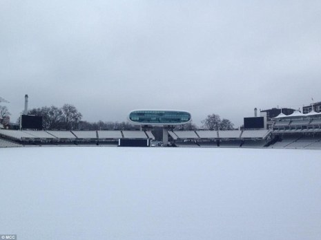 snow london home of cricket