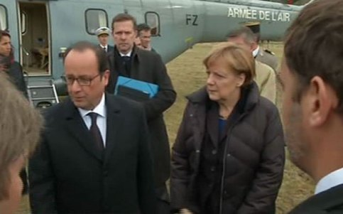 planewreck merkel and hollande