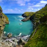 Tintagel Beach Overview - SteffiSays