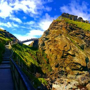 Tintagel Castle - SteffiSays