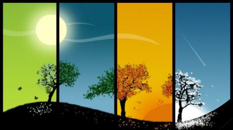 4-seasons-spring-summer-autumn-winter